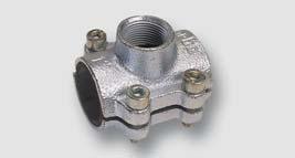 litinový třmen - typ ANB (pro ocelovou trubku)