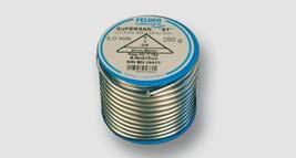 Cu pájka č. 3 (S-Sn97Cu3), 2 nebo 3mm, cívka 250 g DIN EN 29453