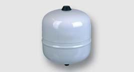 svařovaná expanzní nádoba vhodná i pro nemrznoucí příměsi