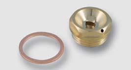 odvzdušňovací ventil s měděným těsněním