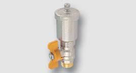 automat. odvzdušňovací ventil pro SOLAR s kulovým kohoutem