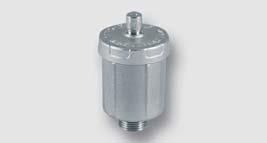 automatický odvzdušňovací ventil pro solární systémy
