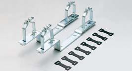 konzole univerzální pro uchycení rozdělovačů do skříně