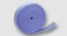 obvodový dilatační lem samolepící s fólií, perforovaný