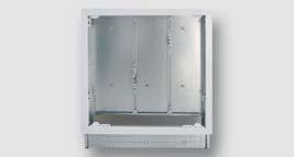 kovová vestavná skříň pro směšovací jednotky (typ 3890)