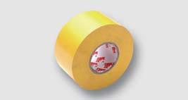 ochranná žlutá páska pro izolaci spojů