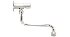 nástěnný umyvadlový samouzavírací ventil s otočným ramínkem