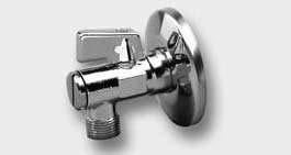 Kulový rohový ventil s filtrem