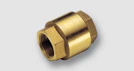univerzální zpětná klapka YACHT ISO 228, T = -20° - 110°C