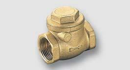 vodorovná zpětná klapka FULL ISO 228, T = -20° - 110°C