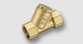 filtr z mosazi CW617N pro pitnou vodu ISO 228