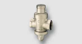 redukční ventil 0,12 - 0,50 MPa, max. 1 Mpa T = 80°C