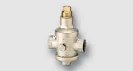 redukční ventil 0,05 - 0,50 MPa, max. 2,5 Mpa T = 80°C
