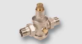 redukční ventil 0,05 - 0,50 Mpa max. 2,5 MPa, T = 80°C