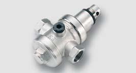 redukční ventil 0,05 - 0,6 Mpa tělo z mosazi CW617N max. 2,5 Mpa