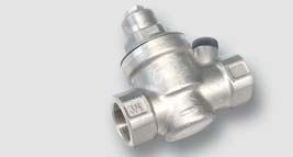 redukční ventil 0,10 - 0,60 Mpa tělo z mosazi CW617N max. 1,6 Mpa