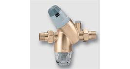 redukční ventil s vyměnitelnou kartuší, náhradní filtr a montážní klíč