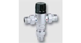 termostatický směšovací ventil se zpětnými klapkami
