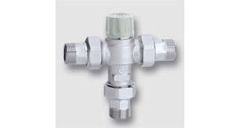 termostatický směšovací ventil se šroubením, zpěté klapky, filtr