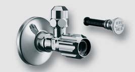 rohový regulační ventil s normálním filtrem