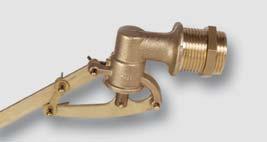 průmyslový plovákový ventil (bez plováku)