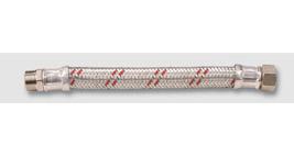 antivibrační hadice na teplou vodu PN 10 / Š 3/4'' x M 3/4''