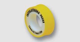 těsnící teflonová páska 12 mm x 10 m x 0,1 mm