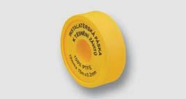 těsnící teflonová páska 19 mm x 15 m x 0,2 mm pro plyn